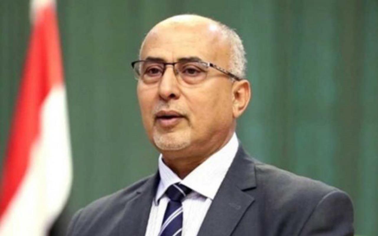 وزير الإدارة المحلية في حكومة تصريف الأعمال